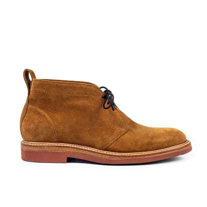 The Unlined Chukka in Butterscotch Weatherproof Suede
