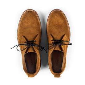 The Unlined Chukka in Butterscotch Weatherproof Suede: Alternate Image 7