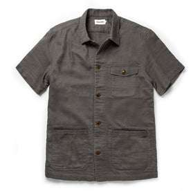 The Caravan Shirt in Walnut Double Cloth: Featured Image