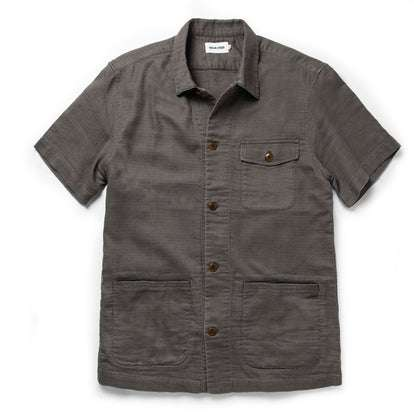 The Caravan Shirt in Walnut Double Cloth