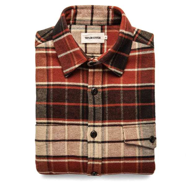 The Crater Shirt in Navy Plaid - Classic Men's Clothing
