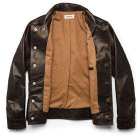 The Cuyama Jacket in Cola Leather: Alternate Image 13