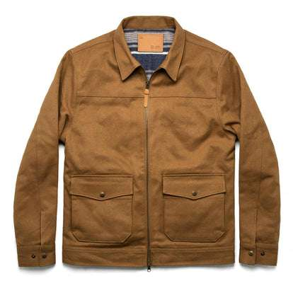 The Mechanic Jacket in British Khaki Boss Duck