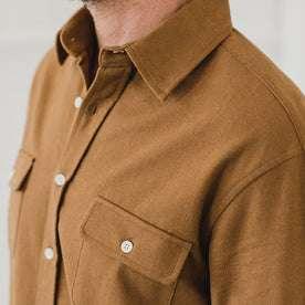 The Yosemite Shirt in British Khaki: Alternate Image 8