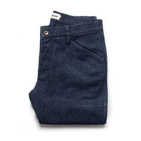 The Chore Pant in Indigo Boss Duck: Featured Image