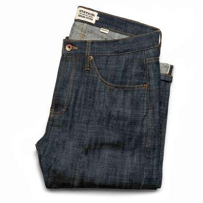 The Democratic Jean in Green Cast Selvage