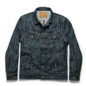 The Long Haul Jacket in Green Cast Selvage: Featured Image