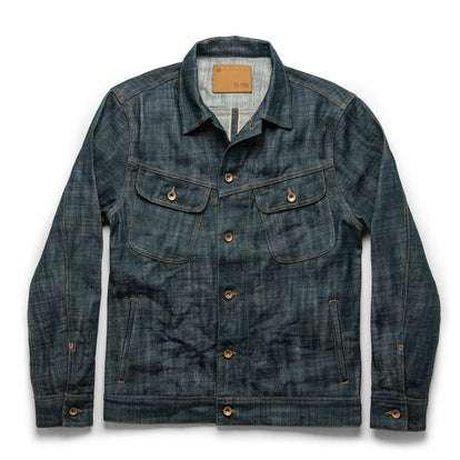 The Long Haul Jacket in Green Cast Selvage