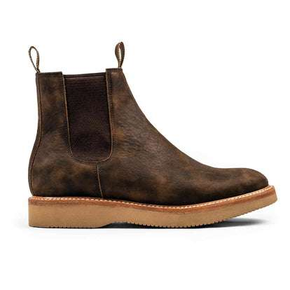 The Ranch Boot in Espresso Grizzly