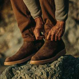 The Ranch Boot in Espresso Grizzly: Alternate Image 1