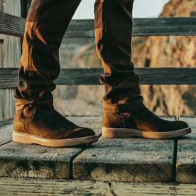The Ranch Boot in Espresso Grizzly: Alternate Image 2