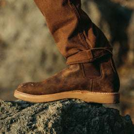 The Ranch Boot in Espresso Grizzly: Alternate Image 3