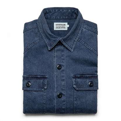 The Shop Shirt in Indigo Boss Duck