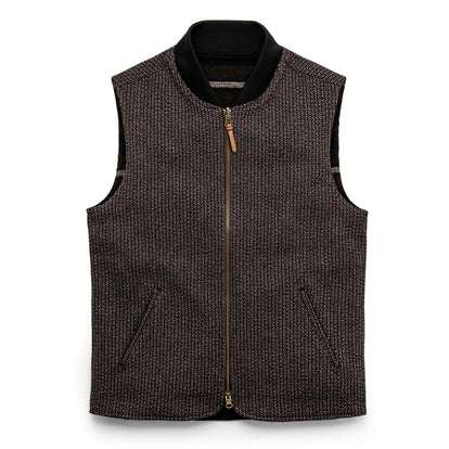 The Able Vest in Wool Beach Cloth