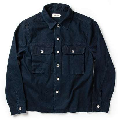 The HBT Jacket in Washed Navy