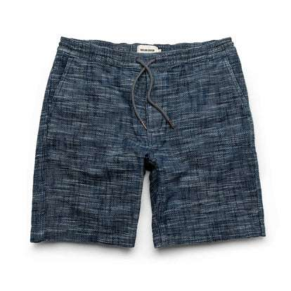 The Après Short in Indigo Slub