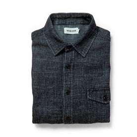 The Cash Shirt in Indigo Hemp: Featured Image
