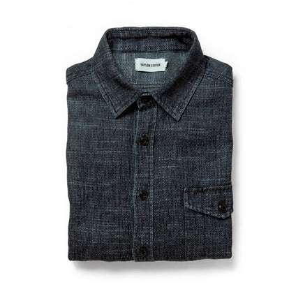 The Cash Shirt in Indigo Hemp