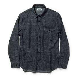 The Cash Shirt in Indigo Hemp: Alternate Image 8