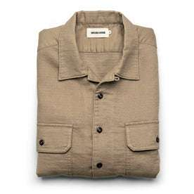 The Corso in Khaki Double Cloth: Featured Image