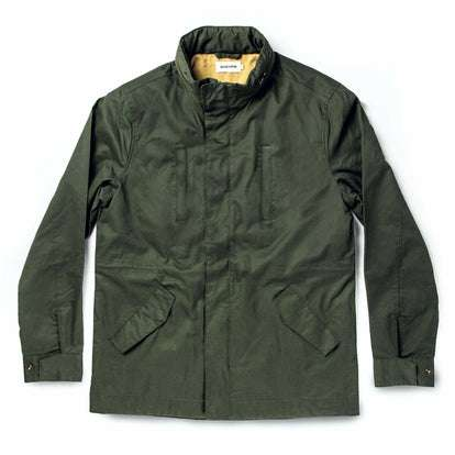 The Harris Jacket in Forest Dry Wax