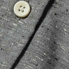 material shot of button and material
