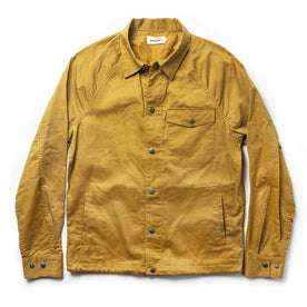 The Lombardi Jacket in Mustard Dry Wax: Featured Image