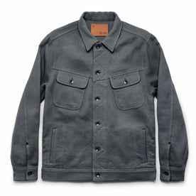 The Long Haul Jacket in Ash Sashiko: Featured Image