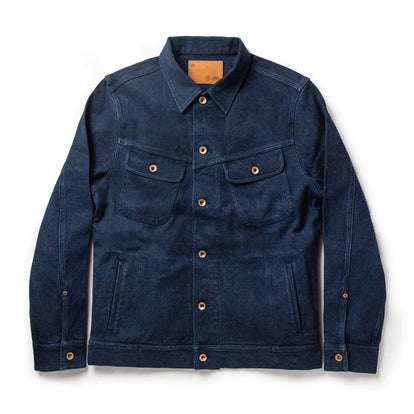 The Long Haul Jacket in Indigo Boss Duck
