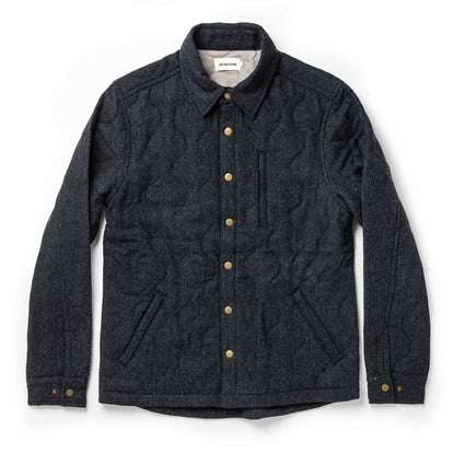 The Wilton Jacket in Navy Birdseye Wool