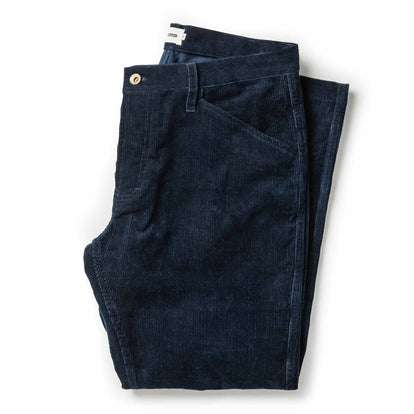The Camp Pant in Indigo Corduroy