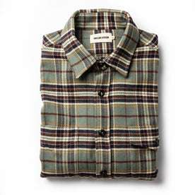 The Crater Shirt in Blue Plaid: Featured Image