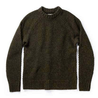 The Fisherman Sweater in Loden