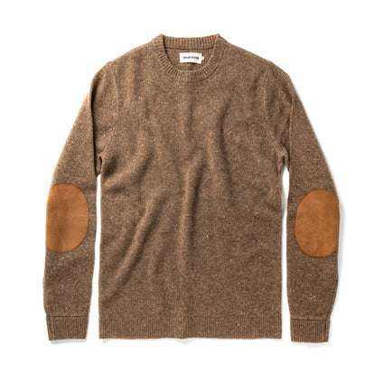 The Hardtack Sweater in Oak Donegal