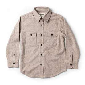 The Little Yosemite Shirt in Oat Donegal: Featured Image