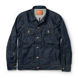 The Long Haul Jacket in Cone Mills Reserve Selvage: Featured Image