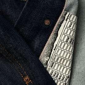 material shot of map pockets