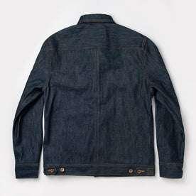 flatlay of jacket back