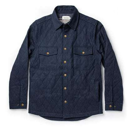 The Quilted Jacket in Indigo Boss Duck