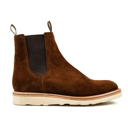 The Ranch Boot in Weatherproof Snuff Suede