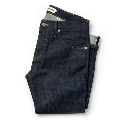 The Slim Jean in Cone Mills Reserve Selvage