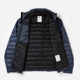 open shot of jacket