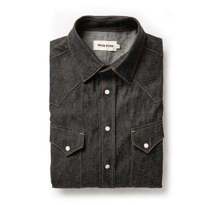 The Western Shirt in Nihon Menpu Reserve Selvage