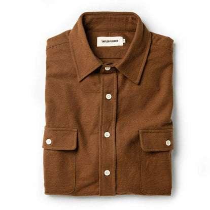 The Yosemite Shirt in Tobacco