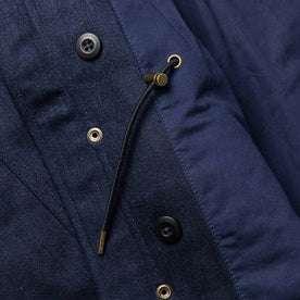 material shot of interior fabric detail