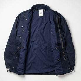 flatlay of jacket opened up