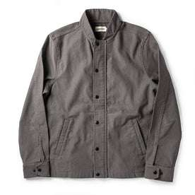 The Bomber Jacket in Charcoal Jungle Cloth: Featured Image