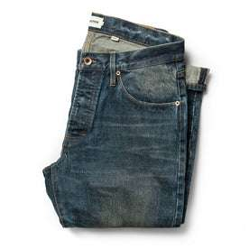 The Democratic Jean in Organic Selvage 12-month Wash: Featured Image
