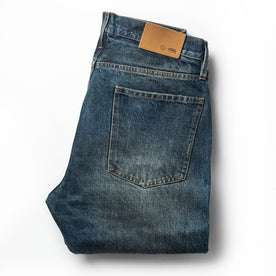 The Democratic Jean in Organic Selvage 12-month Wash: Alternate Image 8