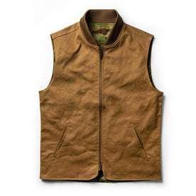 flatlay of vest
